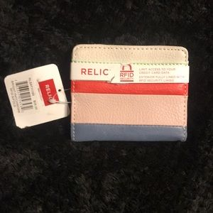 NWT relic RFID wallet